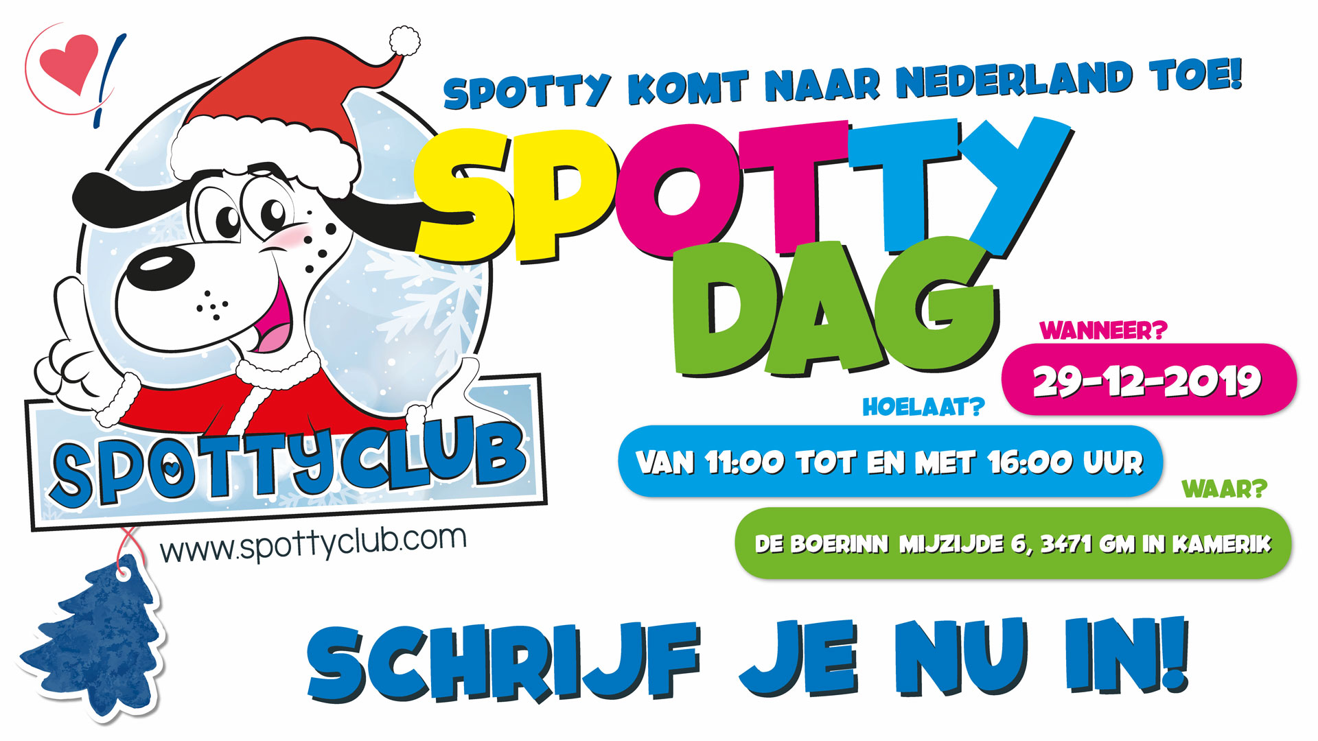 SPOTTY DAY | 29 December 2019 - 'de Boerinn' in Kamerik - Utrecht