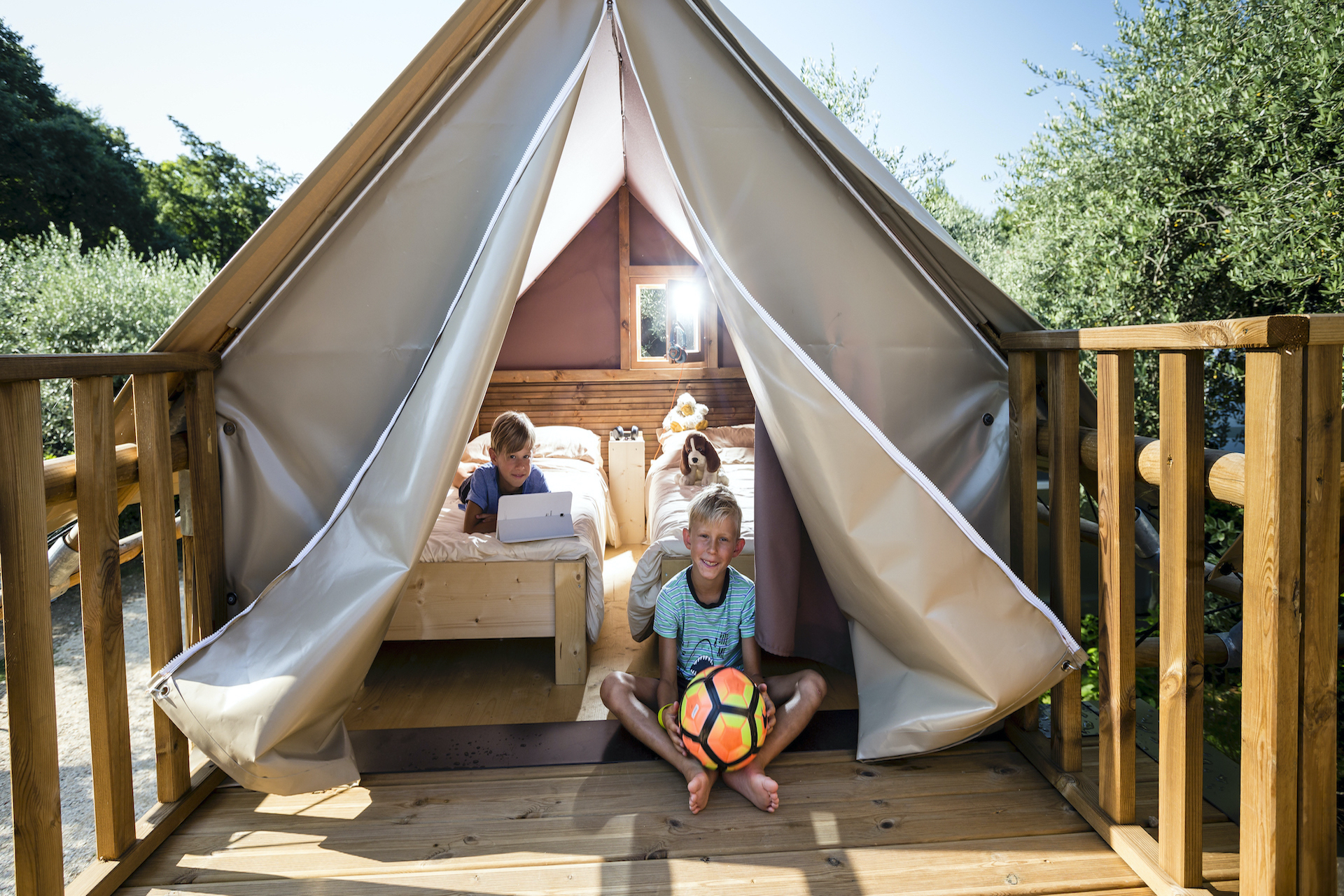 At Weekend Glamping Resort big news awaits you ...